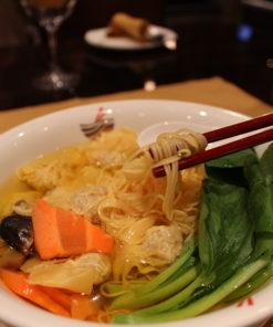 Big Bowl Noodle Soup